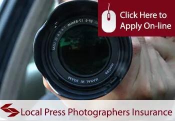 local press photographers public liability insurance