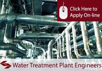 water treatment plant service and maintenance engineers public liability insurance