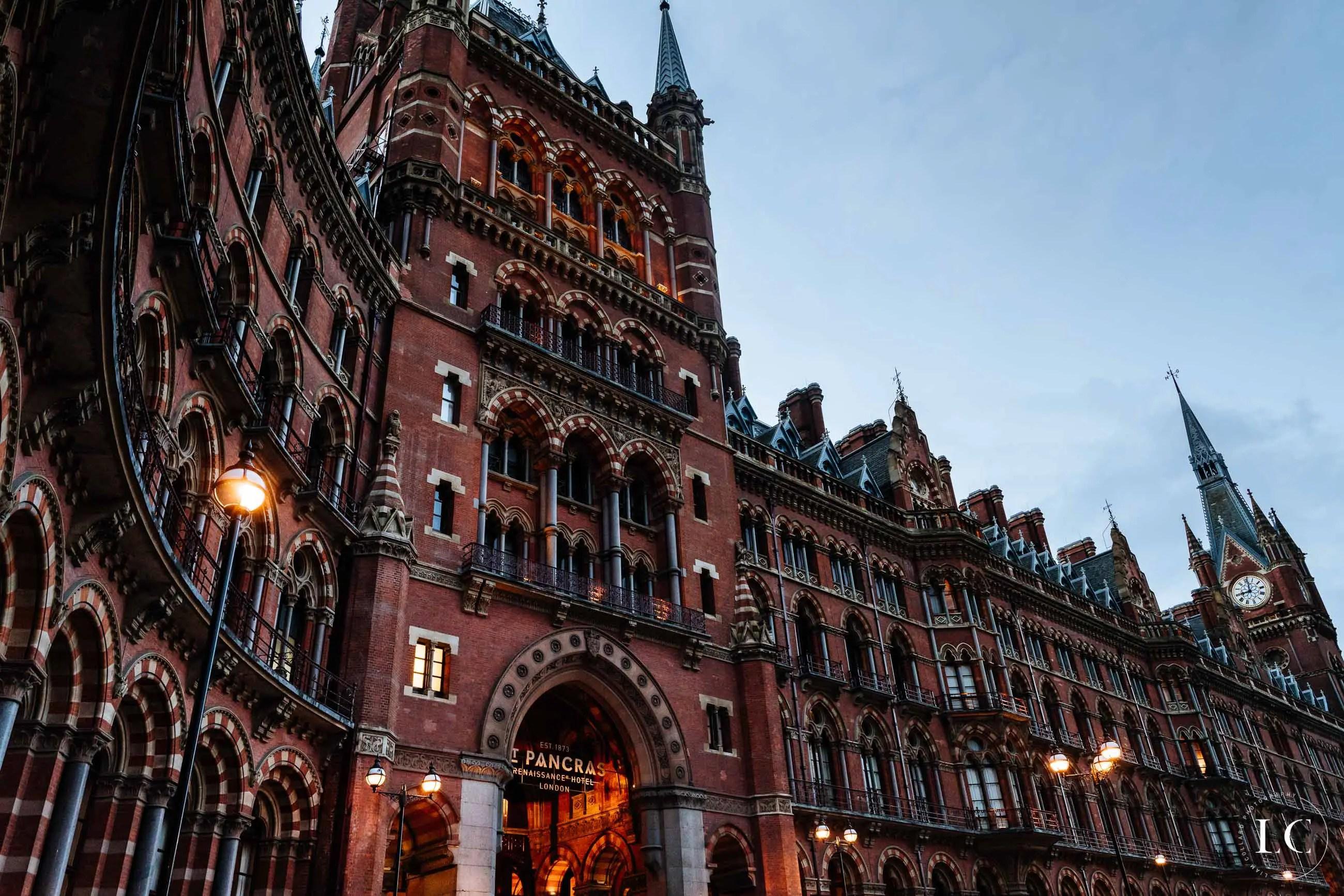Architecture st Pancras London