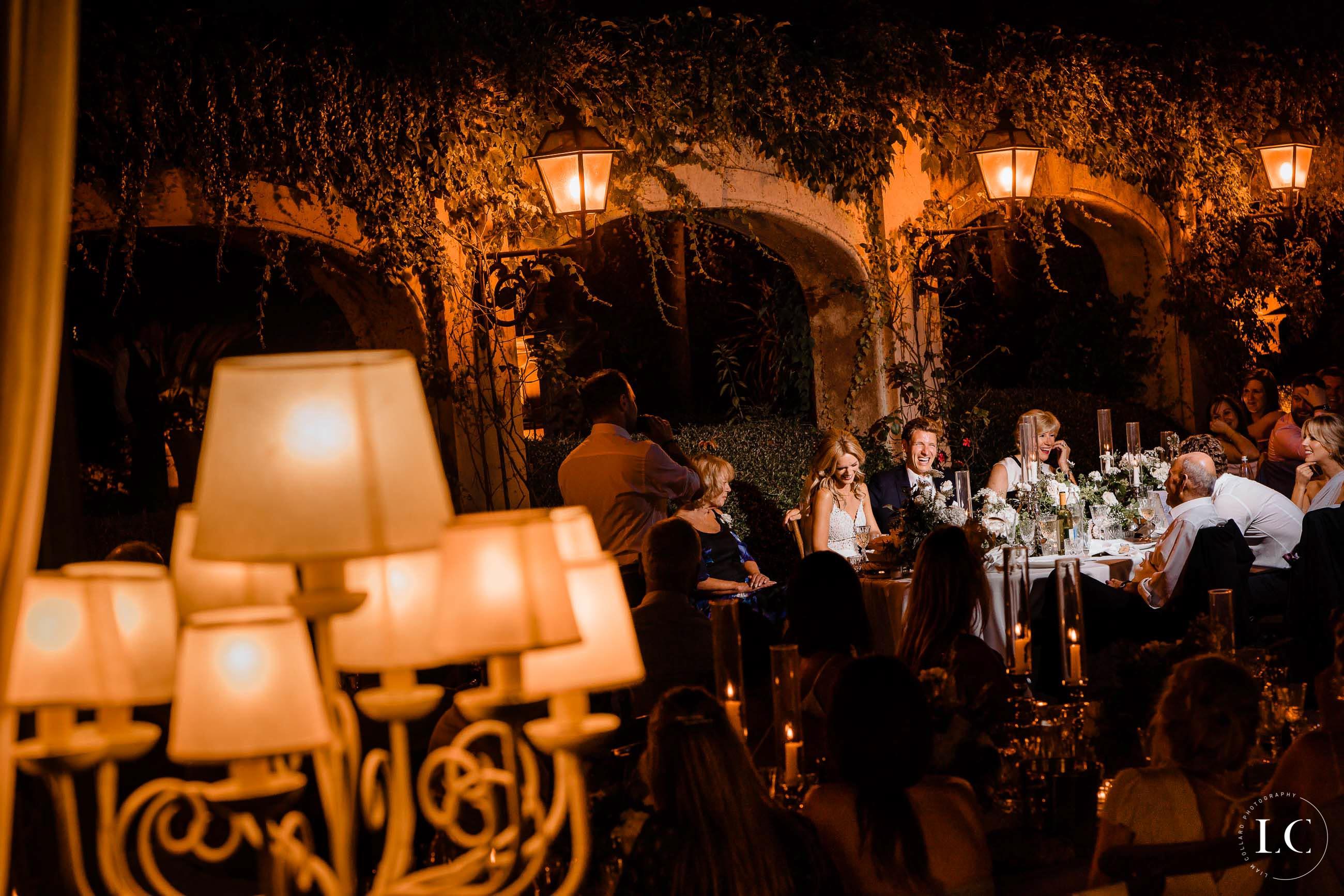 Guests at night