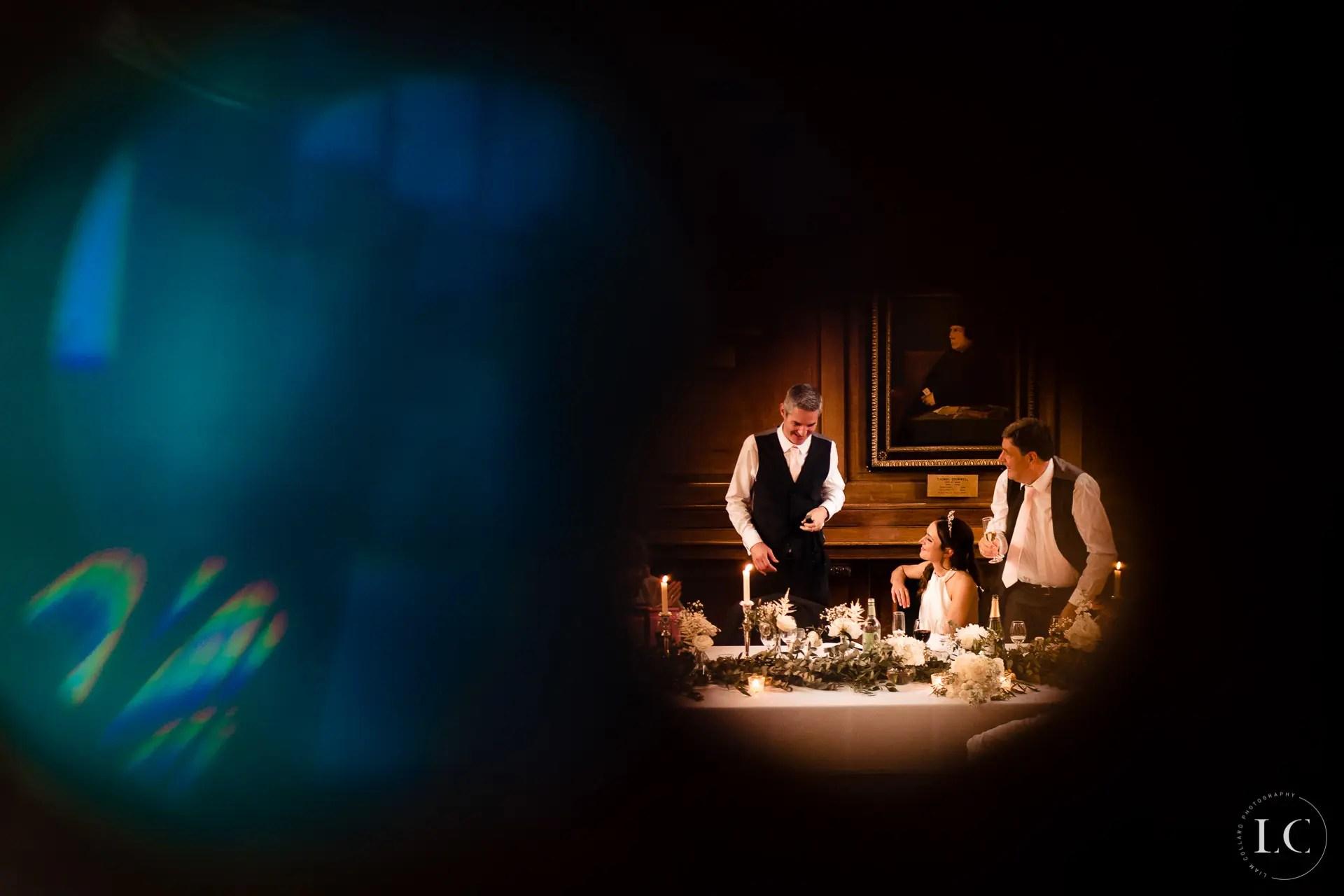 Speeches wedding reception