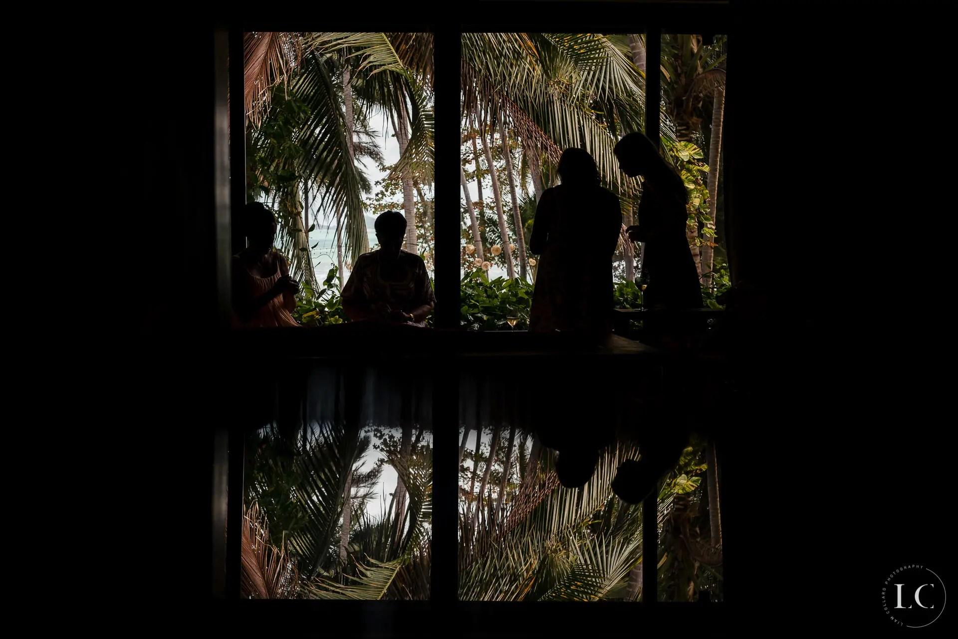 Shadows Thai wedding
