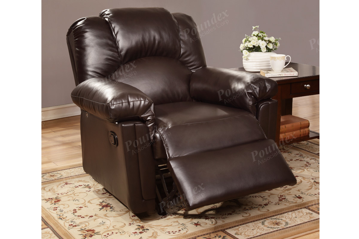 espresso bonded leather reclining sofa loveseat set free shipping recliner in  liam furniture and rugs