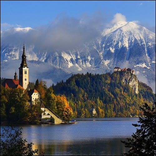 Autumn, Lake Bled, Slovenia