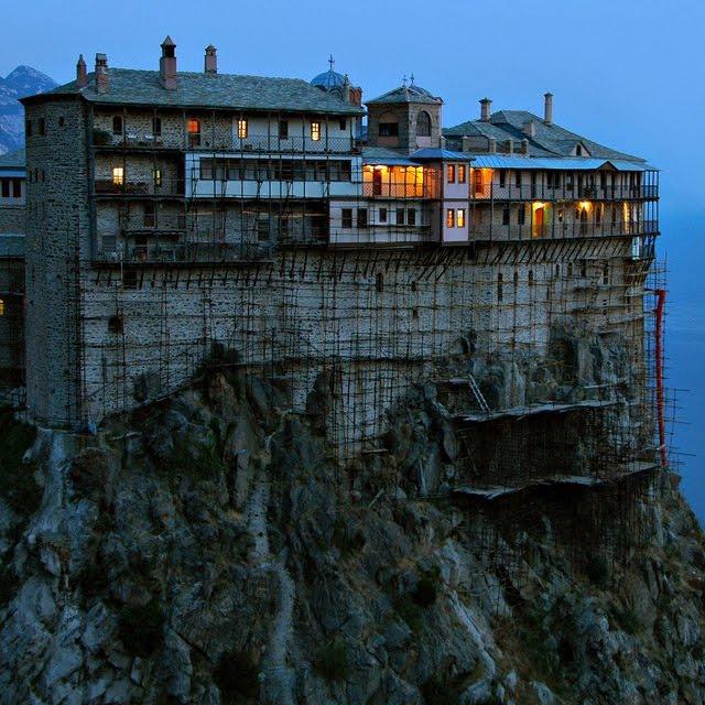 Simonopetra, Athos, Greece
