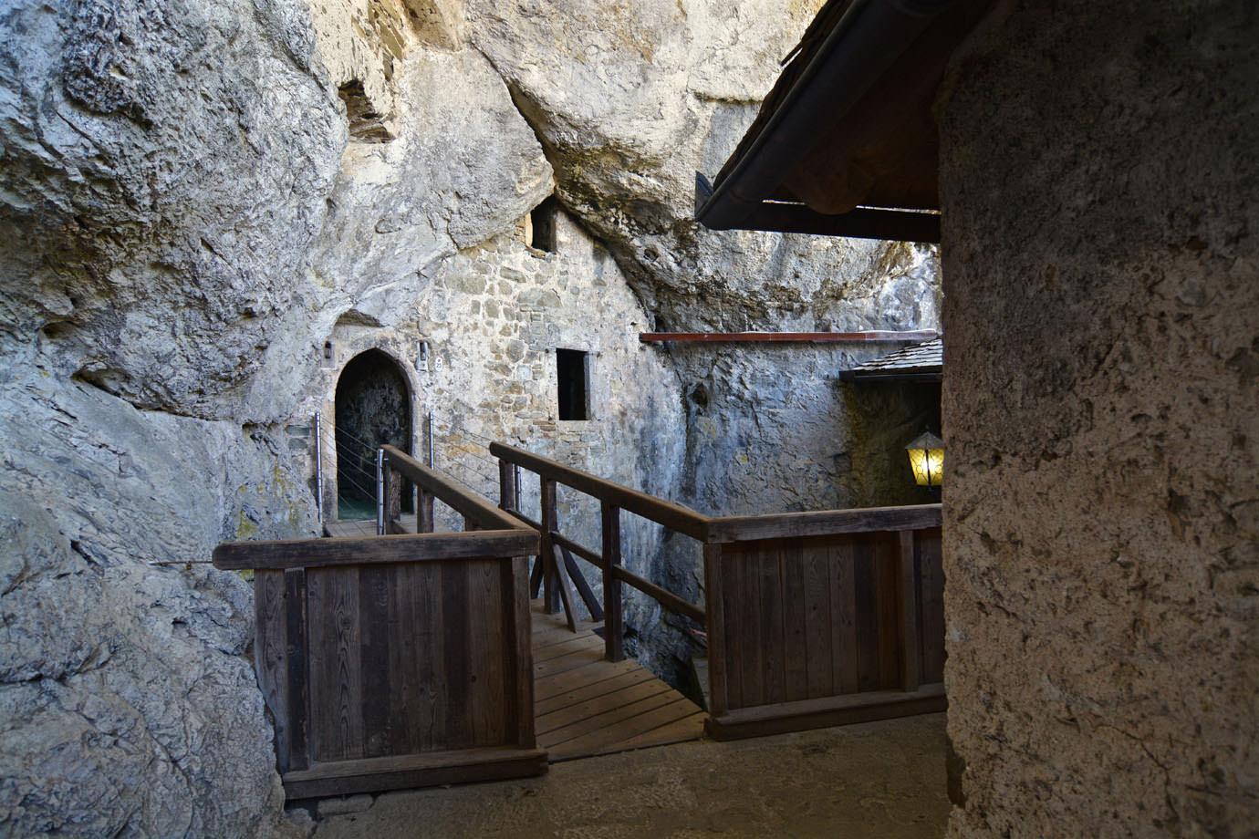 Predjama Castle  LIANA