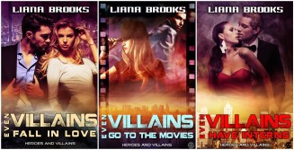 Heroes and Villains - Superhero Romance Novellas