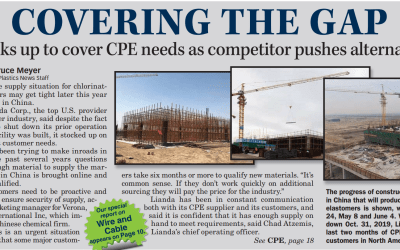 Rubber & Plastic News Covers CPE Changes