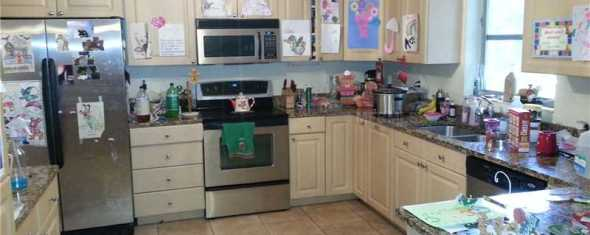 Bad MLS Photo of the Day: Updated (Junk Filled) Kitchen