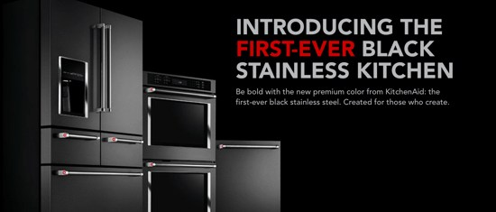 Newest Kitchen Remodel Trend: Black Stainless Steel Appliances