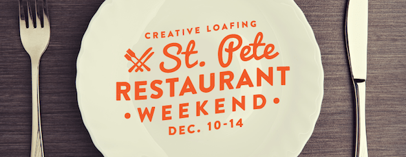 St. Petersburg Restaurant Weekend Lineup is Here!