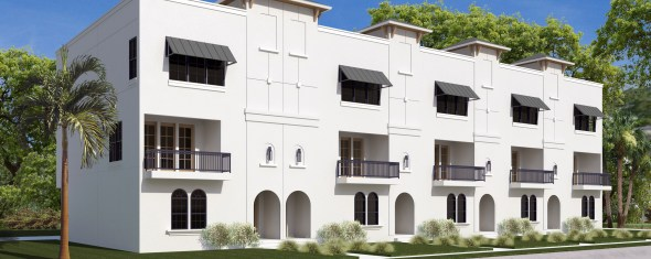 $7,500 Bonus Offer on St. Petersburg Luxury Townhomes