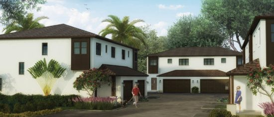 New Construction Clearwater Townhomes Offer Active Lifestyle in Tranquil Setting
