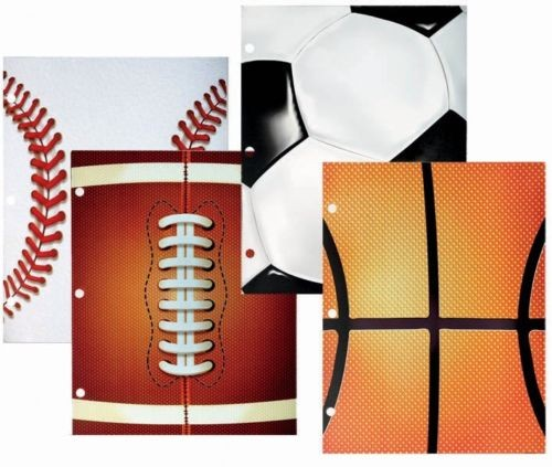 Sports Ball Back to School Bundle, 40 pieces