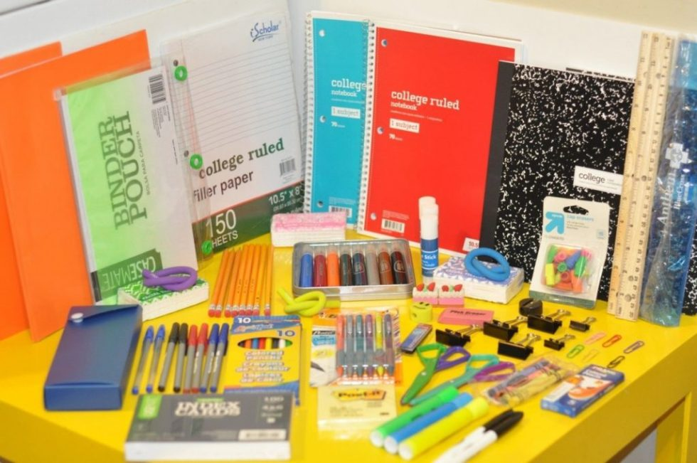 Back to School Supplies Lot Pencils/Pens/Glue/Notebooks/Markers/Erasers and MORE