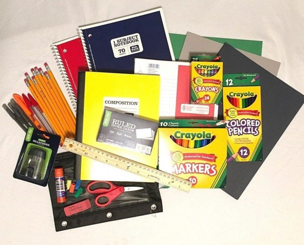 Back to School Supply Lot Bundle Elementary to High School Student and Teacher