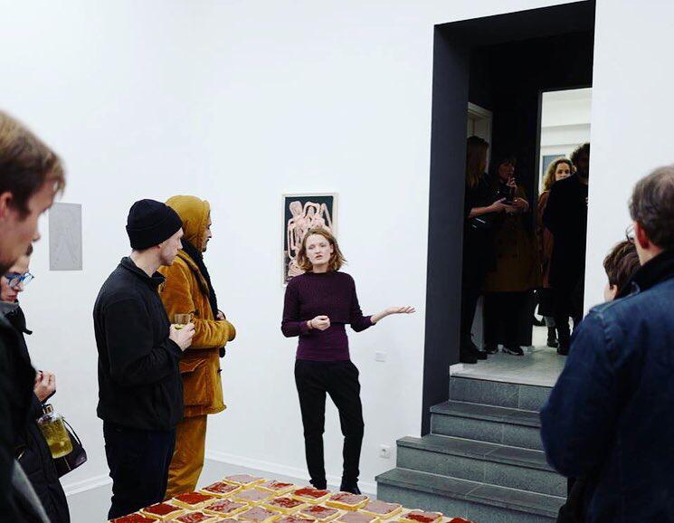 Artist talk with Lia Sáile @ Leikela gallery, Berlin
