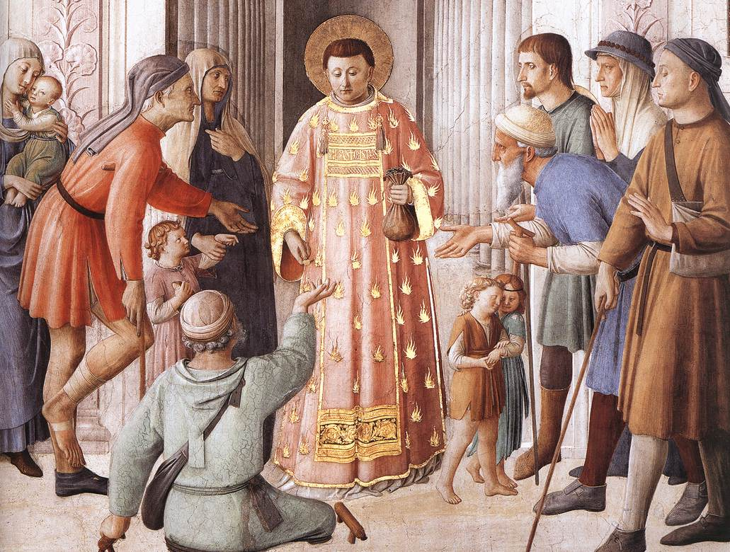 Image result for images st. lawrence the deacon
