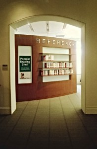 The popular reading collection is located on the 1st floor of Mullen Library.