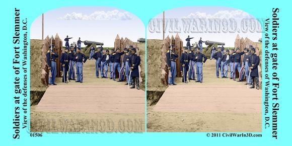 Fort Slemmer in Color, 3D