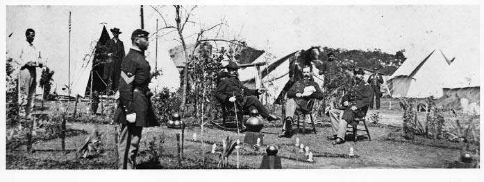 Andrew Lytle Photograph Federal EncampmentBaton Rouge