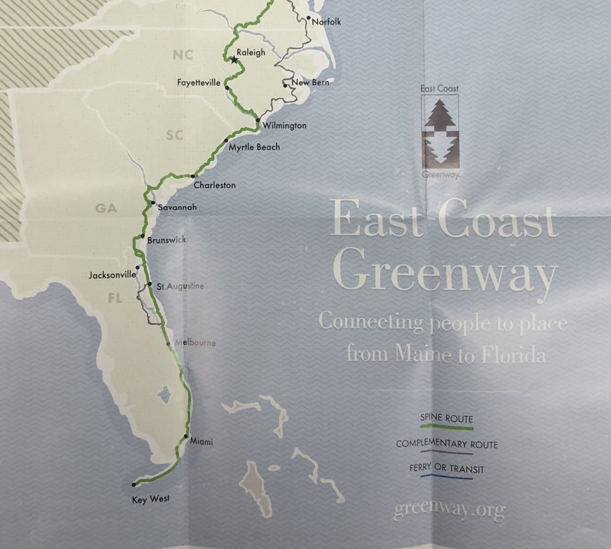 Collection Guide For The East Coast Greenways Records Now