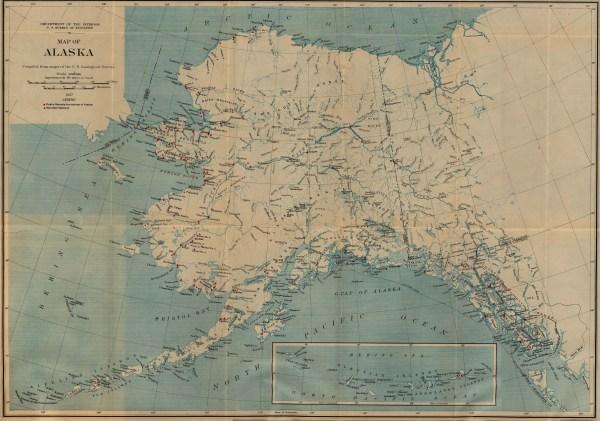 Alaska Maps PerryCastañeda Map Collection UT Library