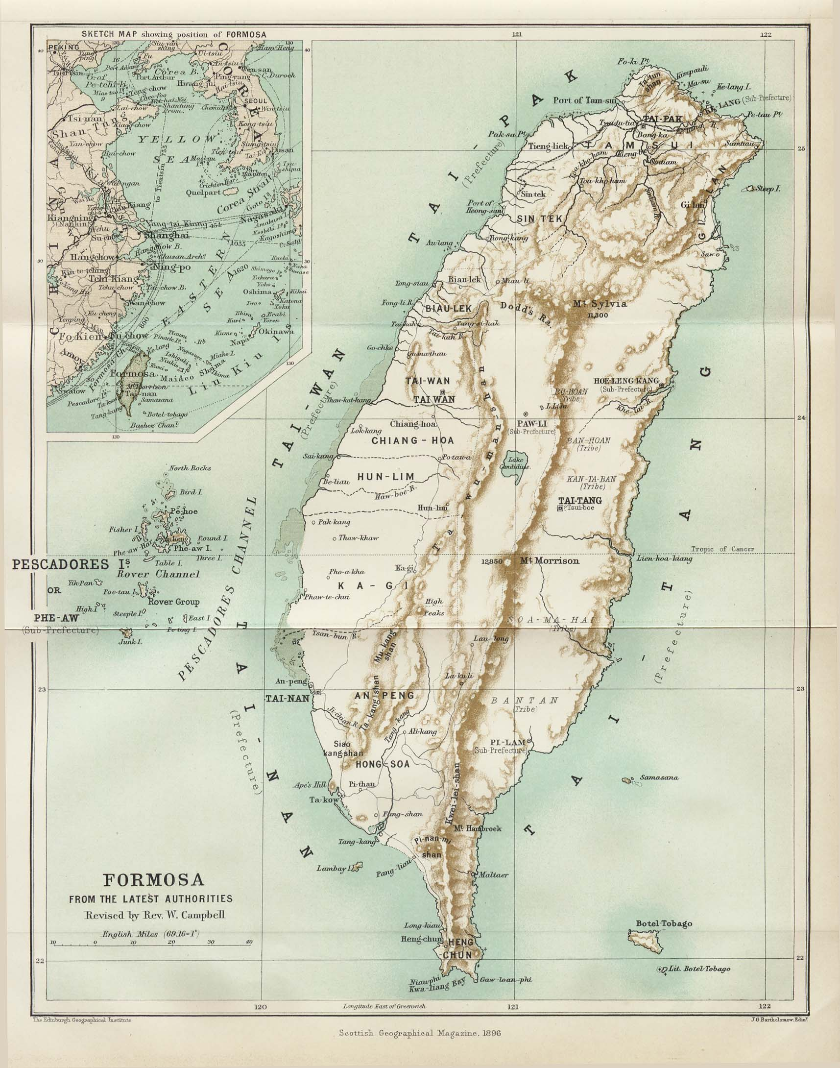 Taiwan Maps - Perry-Castañeda Map Collection - UT Library Online