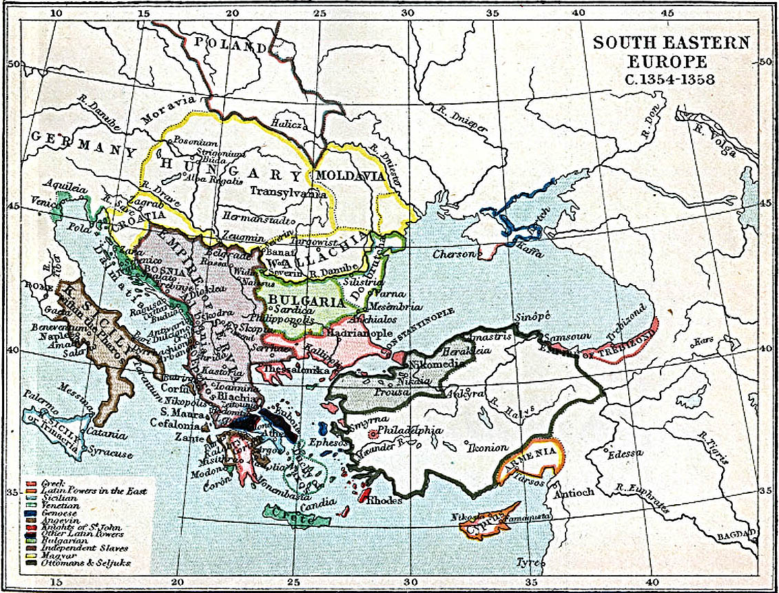 Maps Of South East Europe