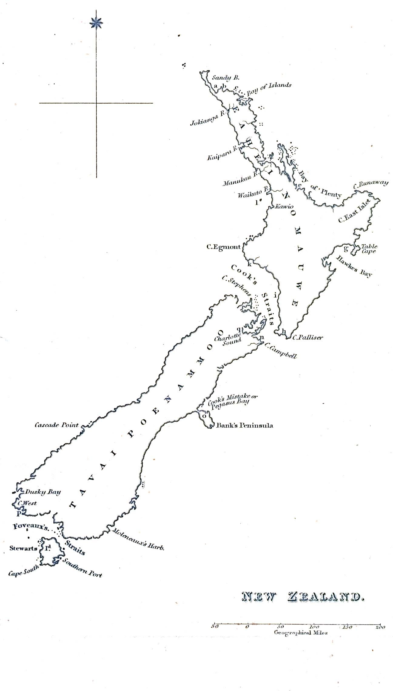 WWW-VL: History Index: New Zealand History: Maori, Christ