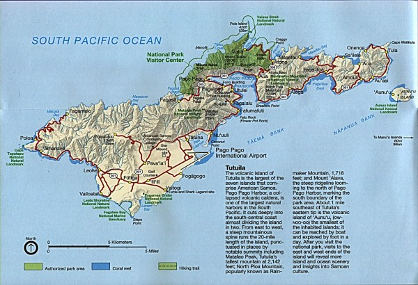 American Samoa Maps PerryCasta241eda Map Collection UT