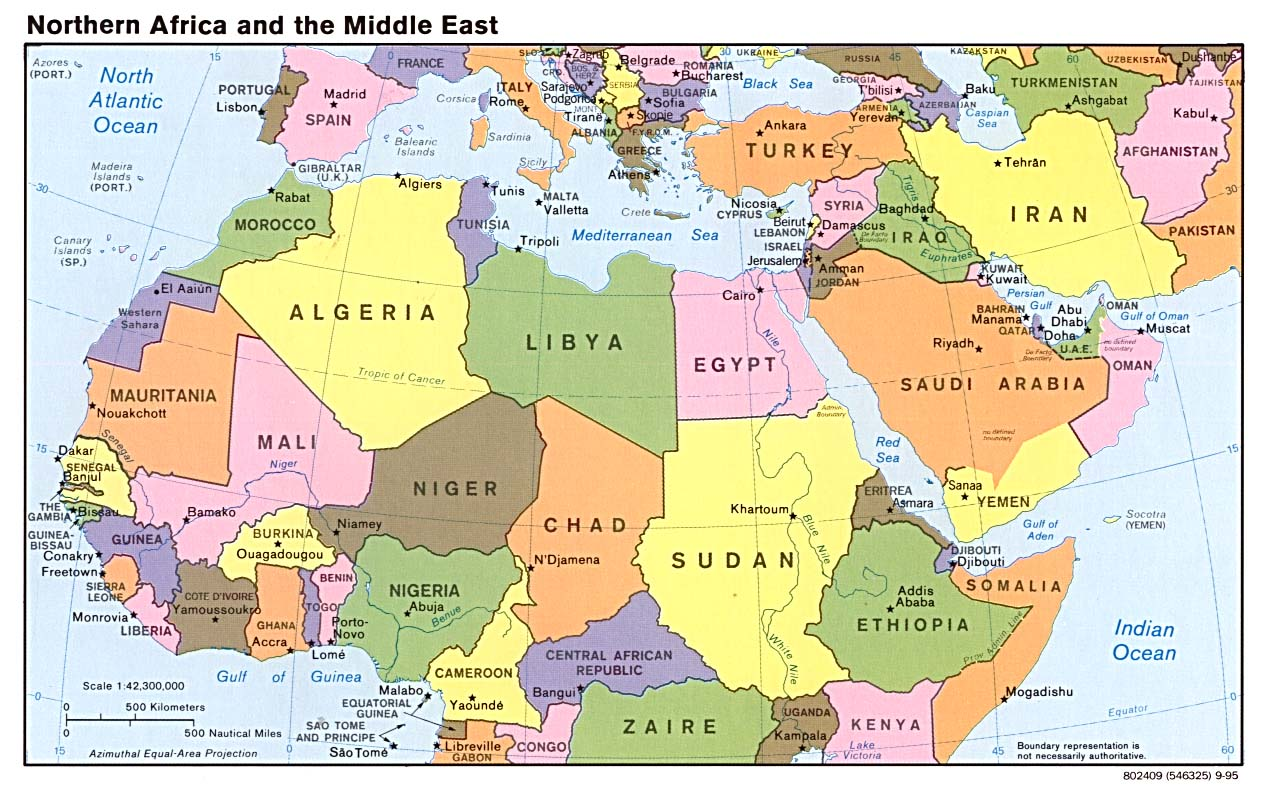 Image result for map of middle east
