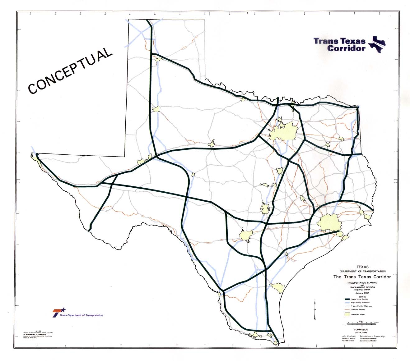 Toll Roads In Texas Map