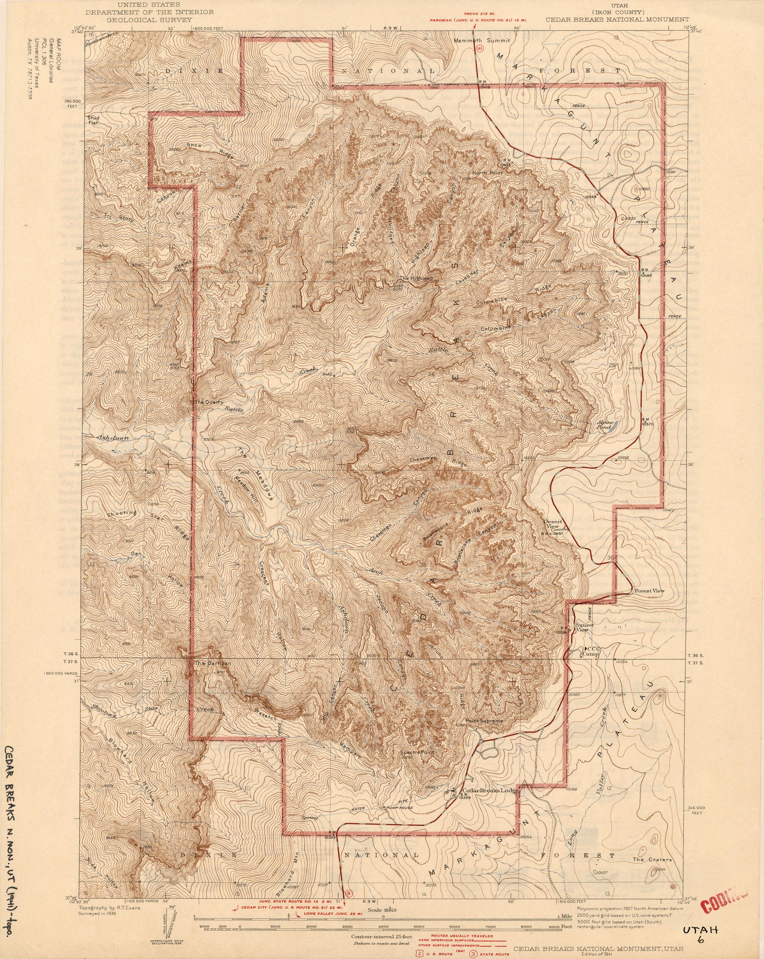 Utah Historical Topographic Maps