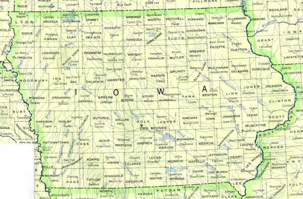 Iowa Maps PerryCastañeda Map Collection UT Library Online