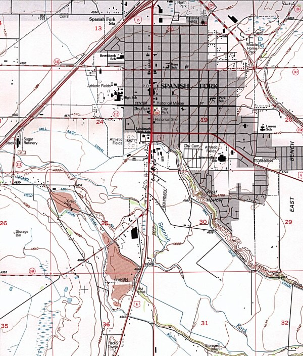 Utah Maps PerryCasta241eda Map Collection UT Library Online