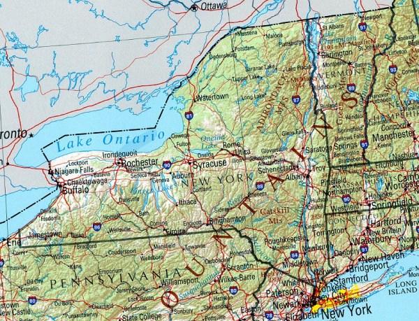 New York Maps PerryCastañeda Map Collection UT