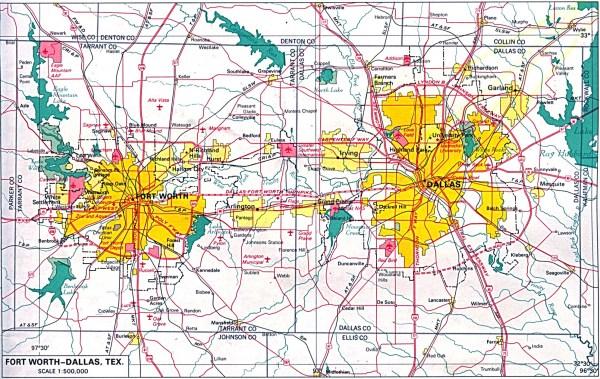 US Metropolitan Area Maps PerryCasta241eda Map