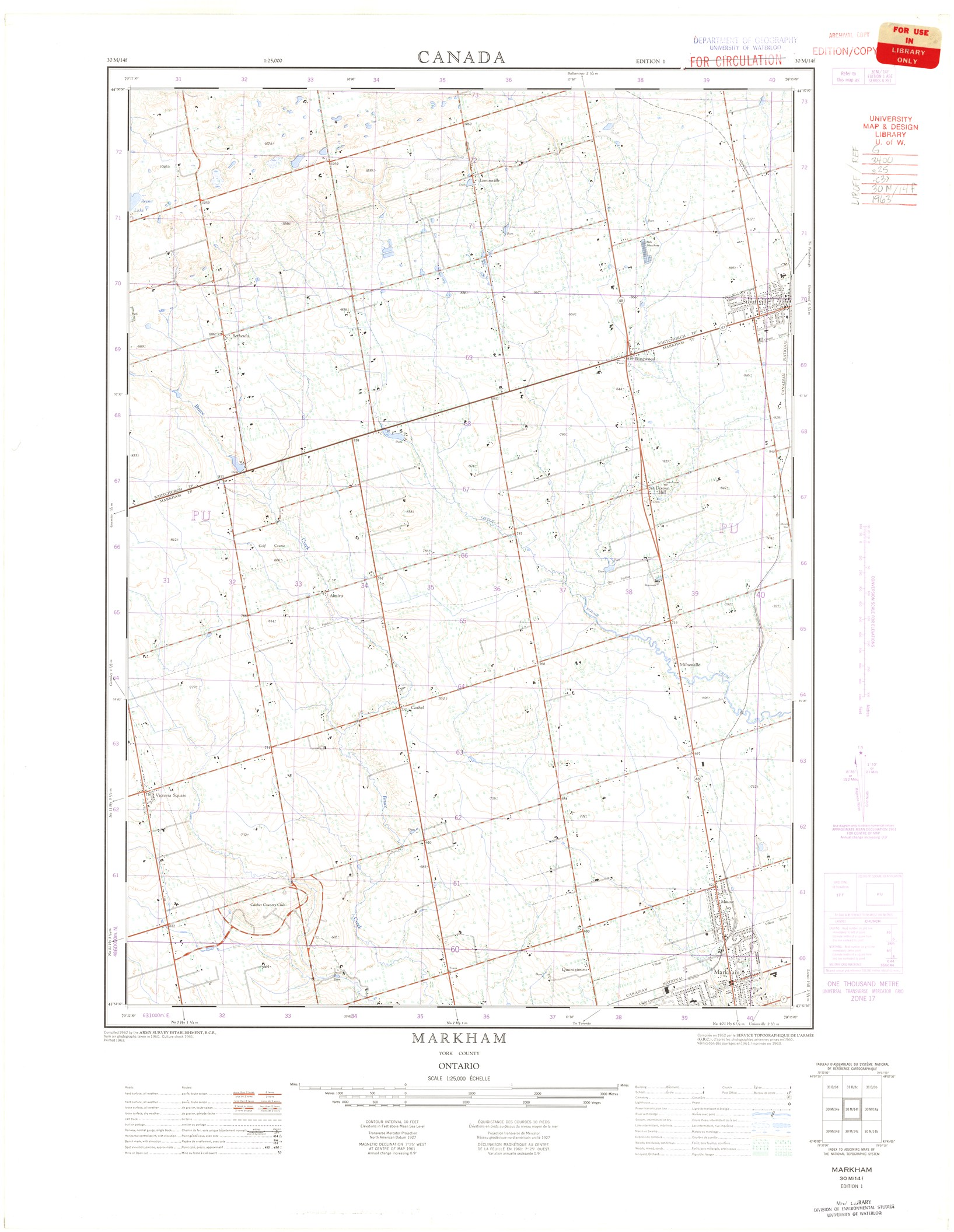 1:25,000 National Topographic System (NTS)(downloadable
