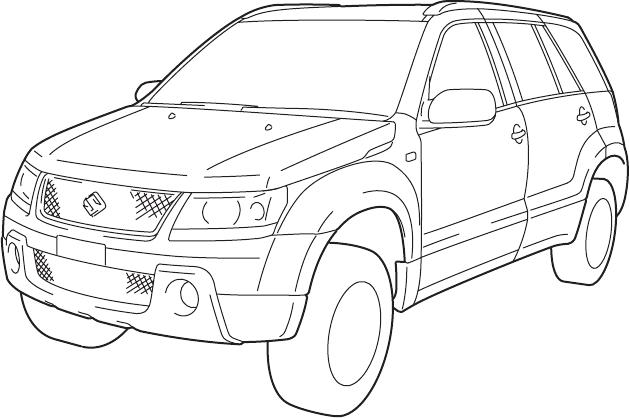Bedienungsanleitung Suzuki Grand Vitara 2008 (Seite 2 von