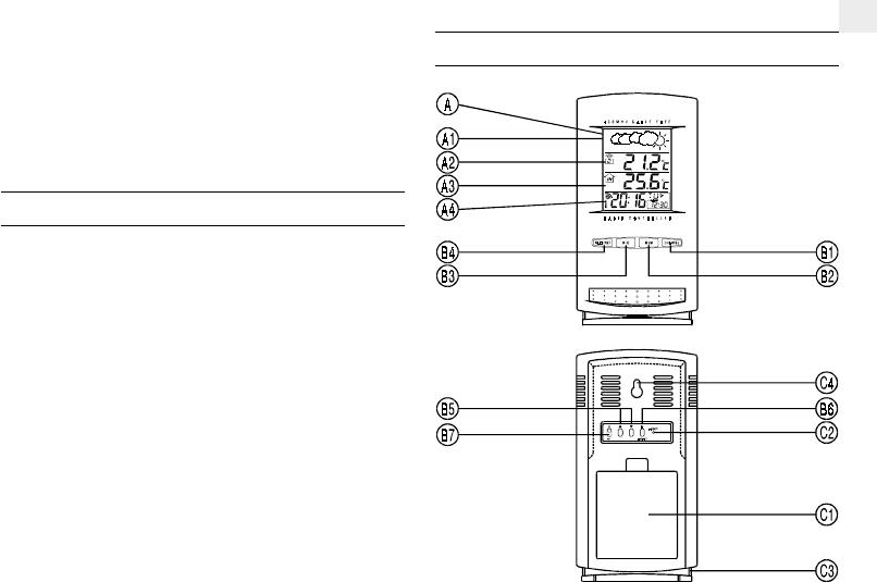 Bedienungsanleitung Oregon Scientific BAR112 (Seite 1 von
