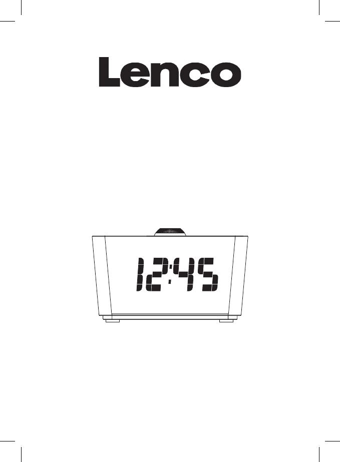 Bedienungsanleitung Lenco CR-16 (Seite 1 von 69) (Deutsch