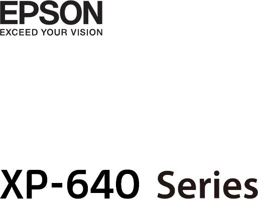 Bedienungsanleitung Epson EXPRESSION PREMIUM XP-640 (Seite