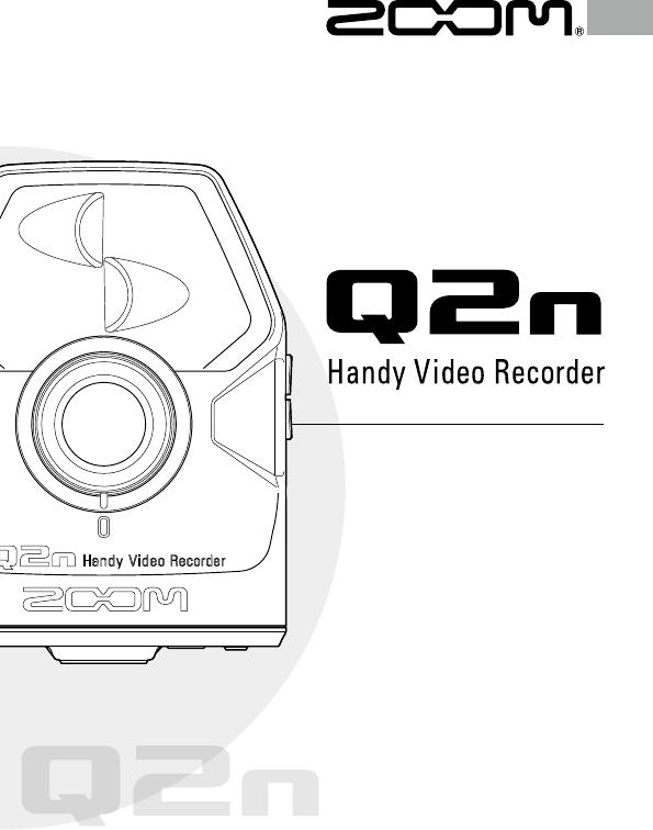 Bedienungsanleitung Zoom Q2N (Seite 1 von 24) (Englisch)
