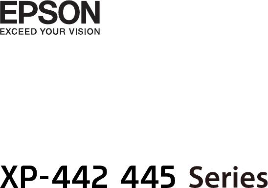 Bedienungsanleitung Epson EXPRESSION HOME XP-445 (Seite 1