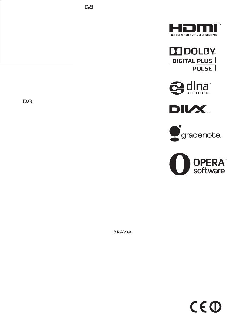 Sony Bravia Kdl 32ex720 Mode Demploi