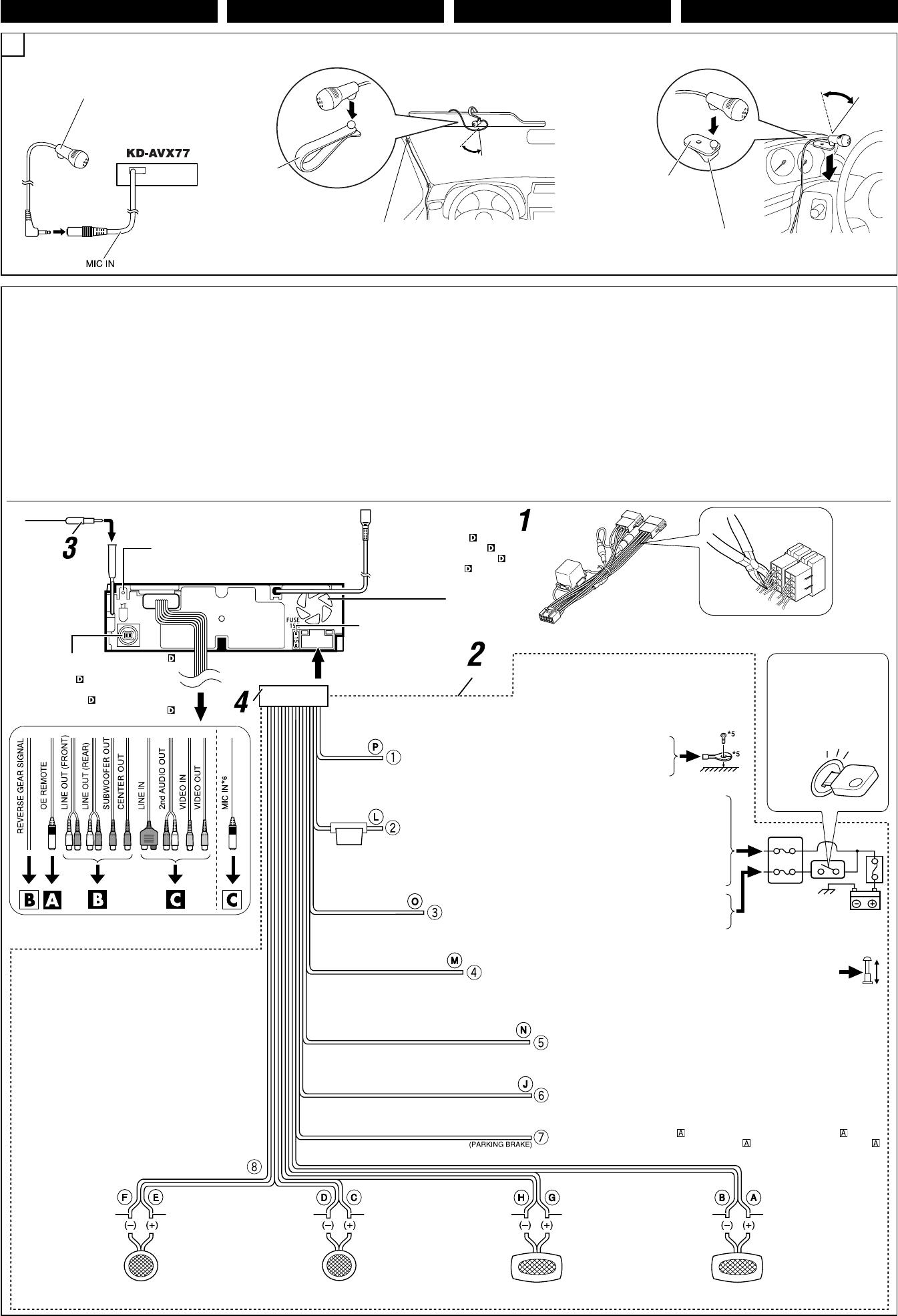 Jvc Kd Avx40 Car Stereo Wiring Harnes - Harness Jvc Diagram Wiring Radio Fojvcsr on