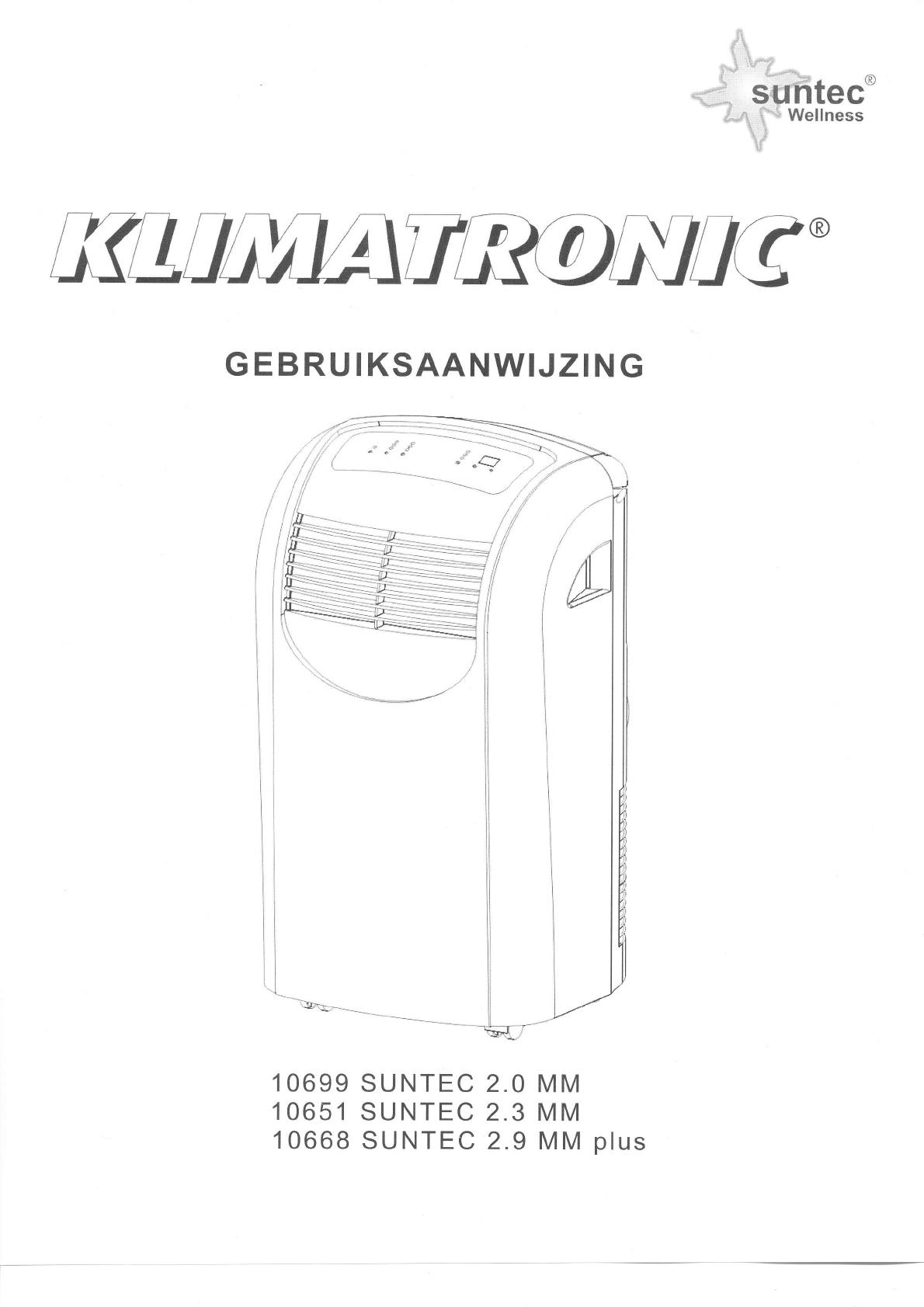 Be Nungsanleitung Suntec Suntech 2 3 Mm Seite 1 Von 10 Hollandisch