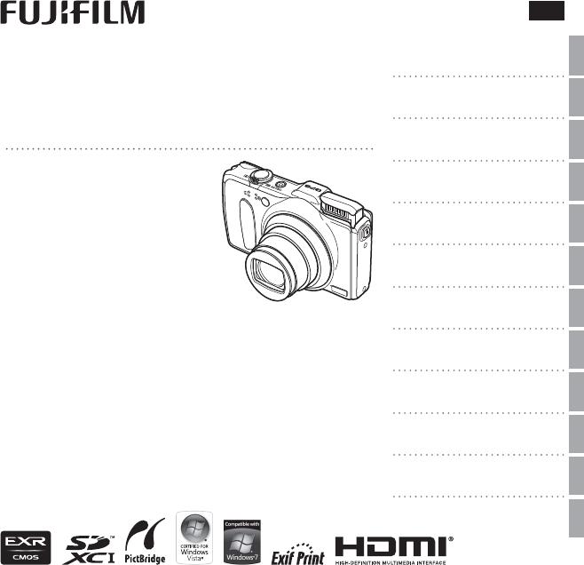 Bedienungsanleitung Fuji Finepix F600EXR (Seite 1 von 153