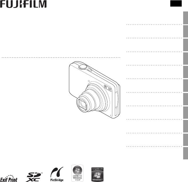 Bedienungsanleitung Fuji Finepix T350 (Seite 1 von 122